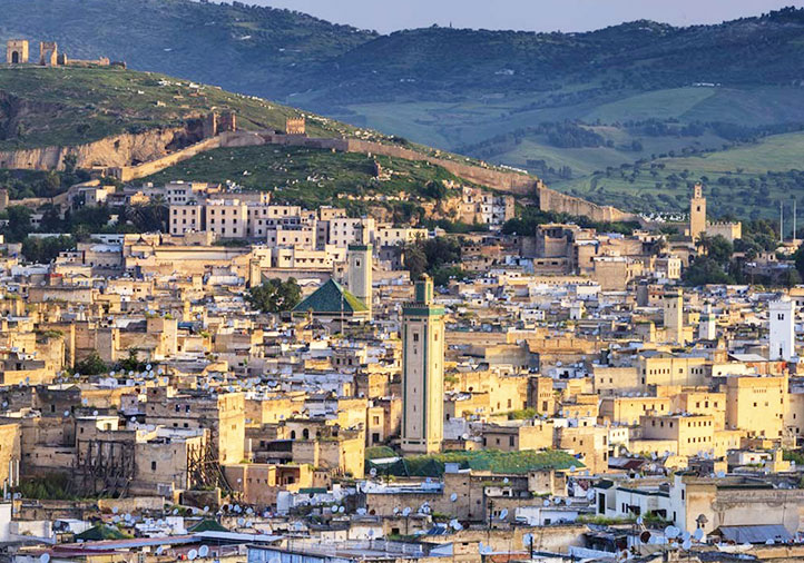 Medina de Fès au Maroc